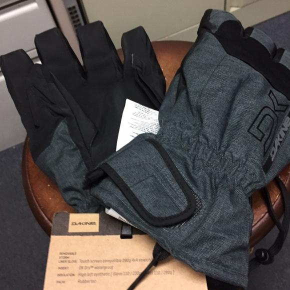 wiele kolorów buty na codzień oficjalna strona 323, NWT Dakine Scout Short Snow Gloves Mens L/9 NWT